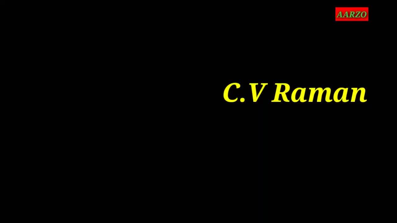 C.V Raman (Short Biography)
