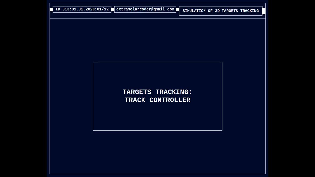 Targets Tracking - Track Controller