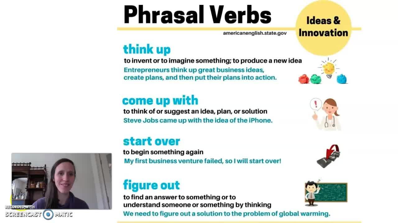 Phrasal Verbs: Ideas & Innovation