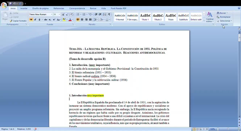 II República (introducción)