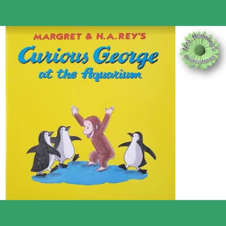 Curious George At The Aquarium