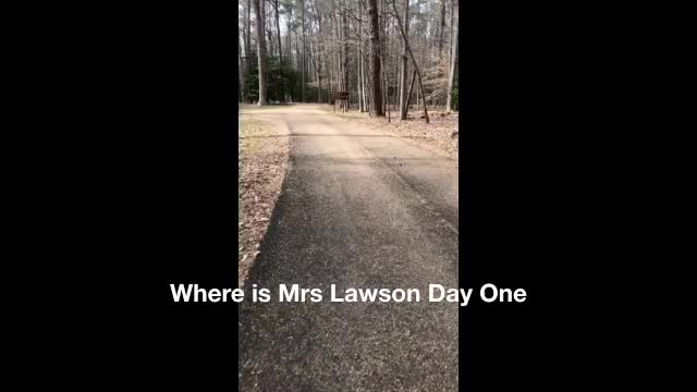 Where is Mrs Lawson