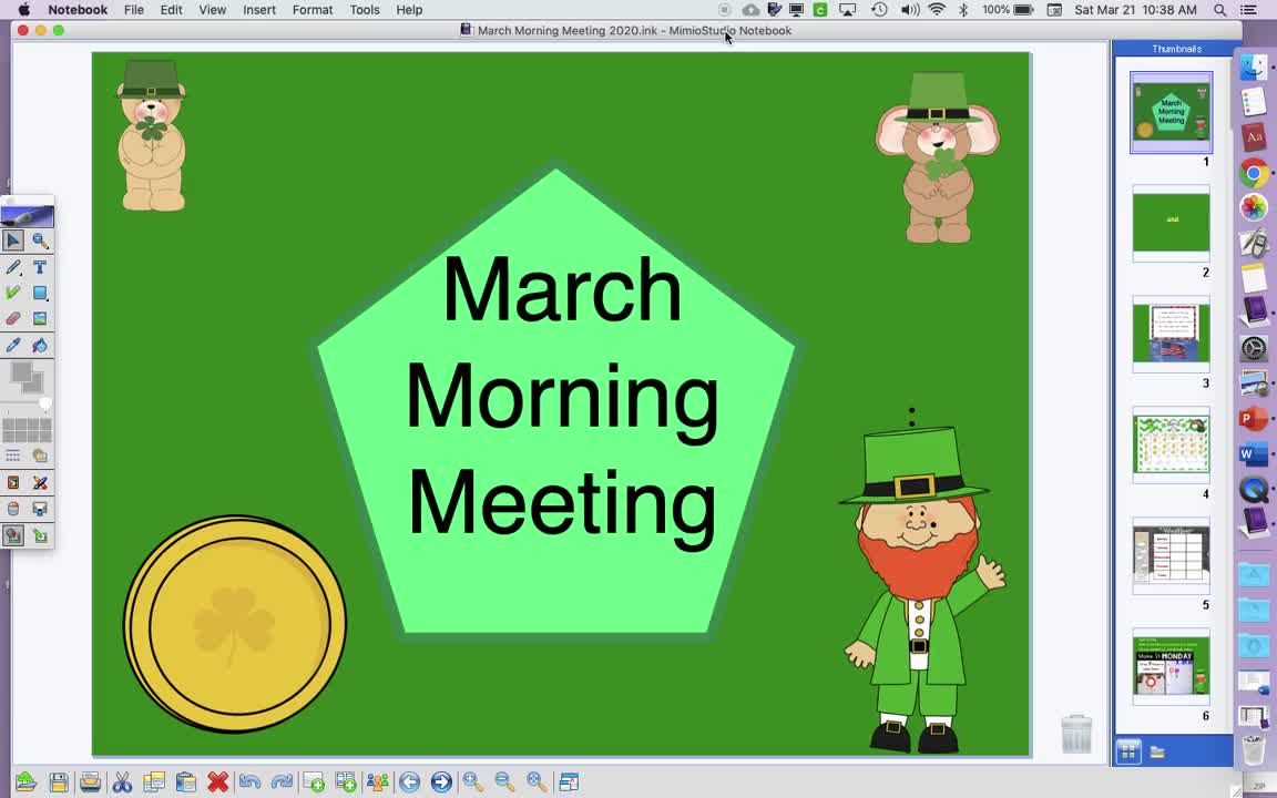 3/23 - Morning Meeting