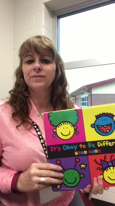 (Read Aloud) It's okay to be different written by Todd Barr