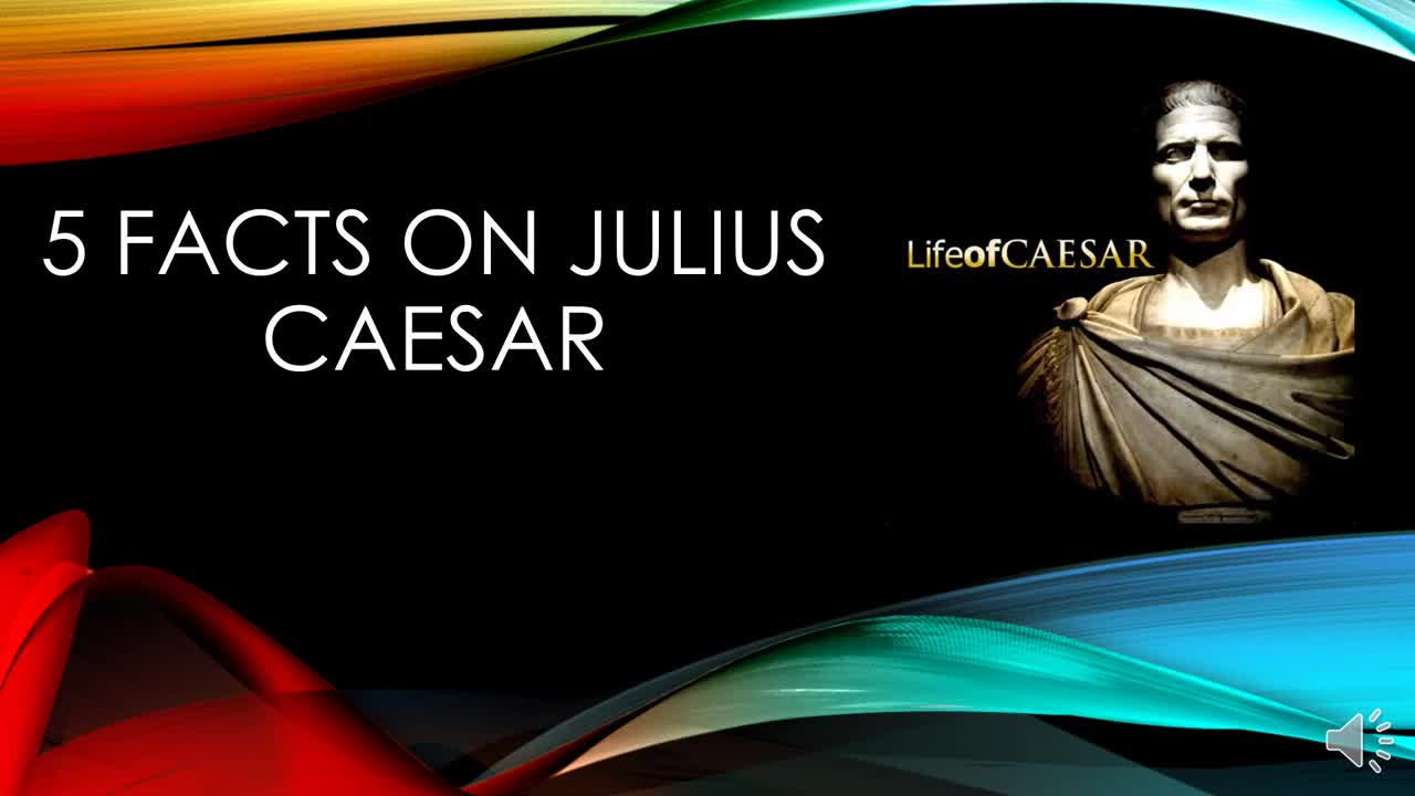 5 Facts on Caesar