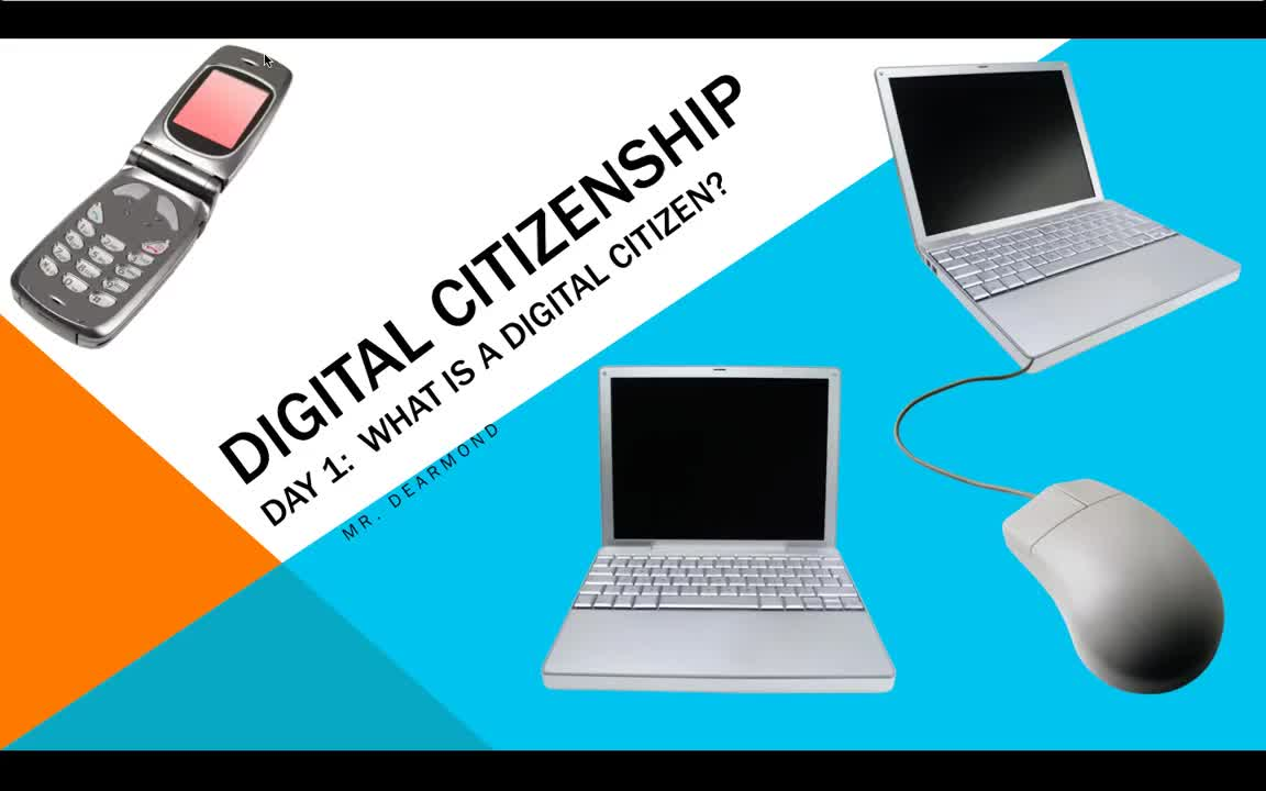 Digital Citizenship Day 1