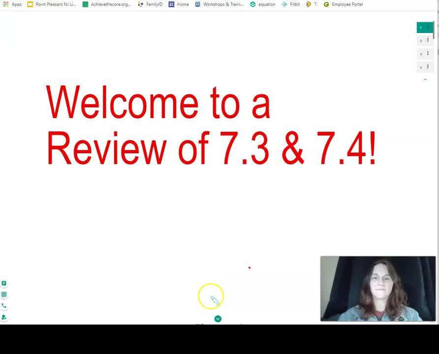 Geometry - Pearson 7.3 & 7.4 Review