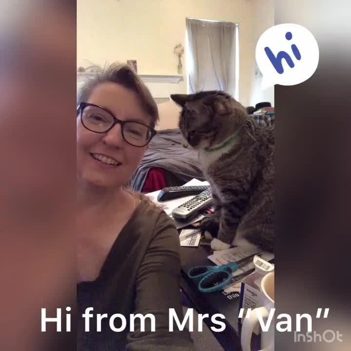Mrs. Van Update, March 25