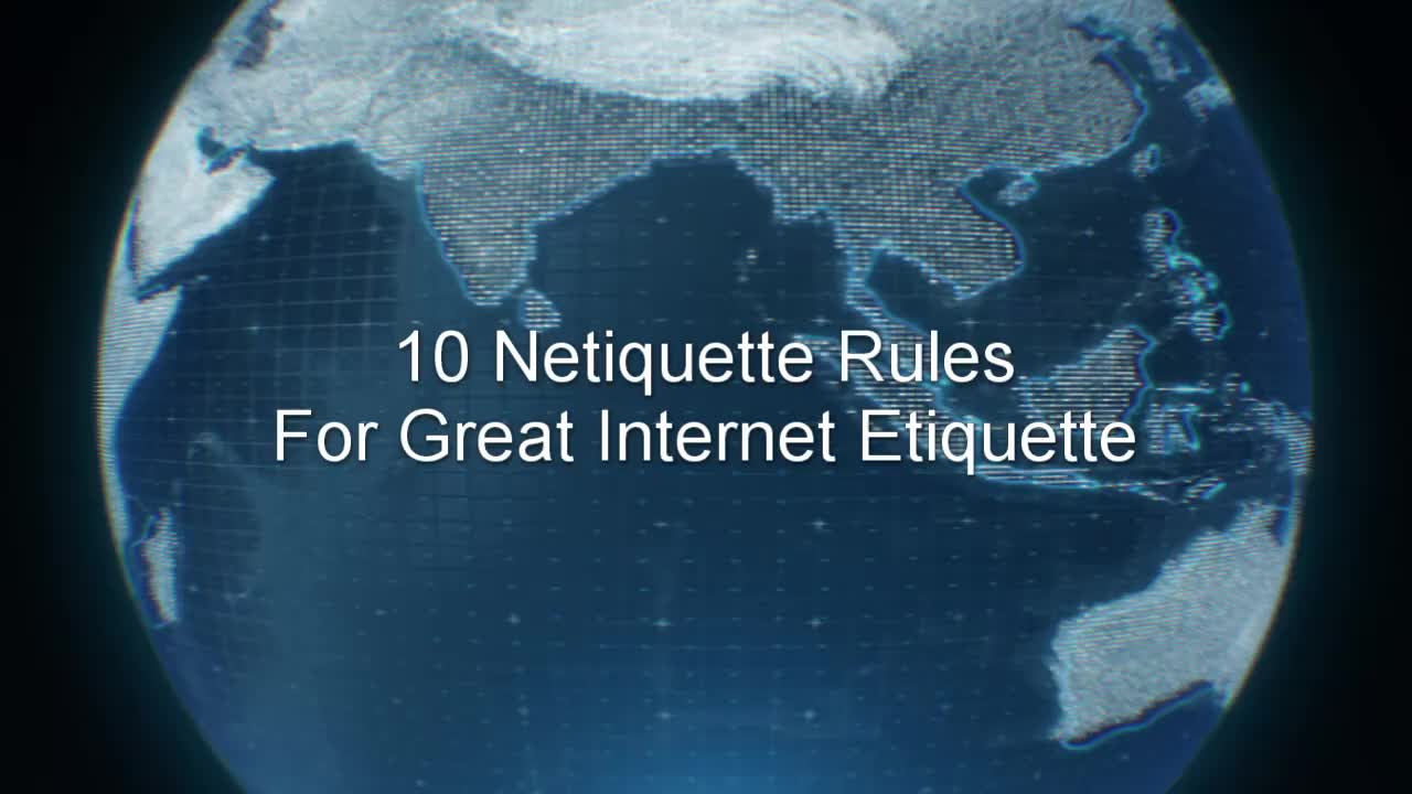 10 Netiquette Rules