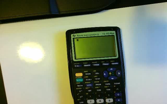 Calculator Tutorial #1 (Discrete Random Variables)