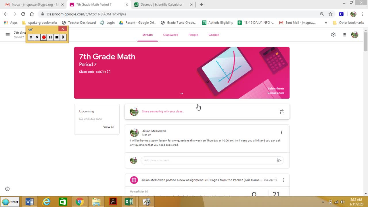 How To Use My Google Classroom