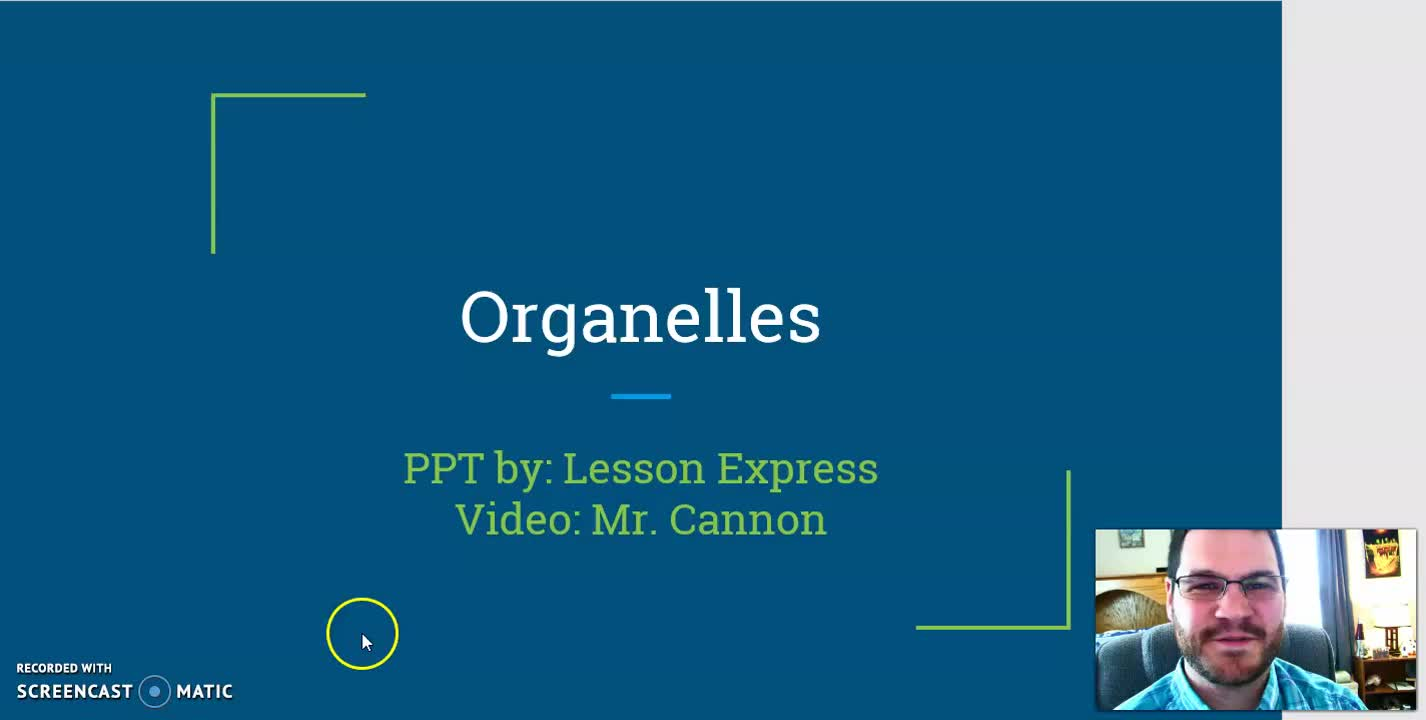 Explaining Organelles Pt. 1