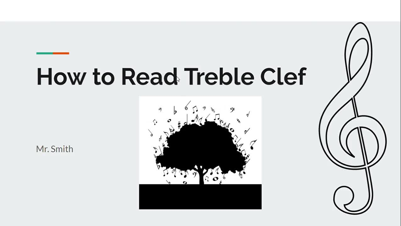 How To Read Treble Clef