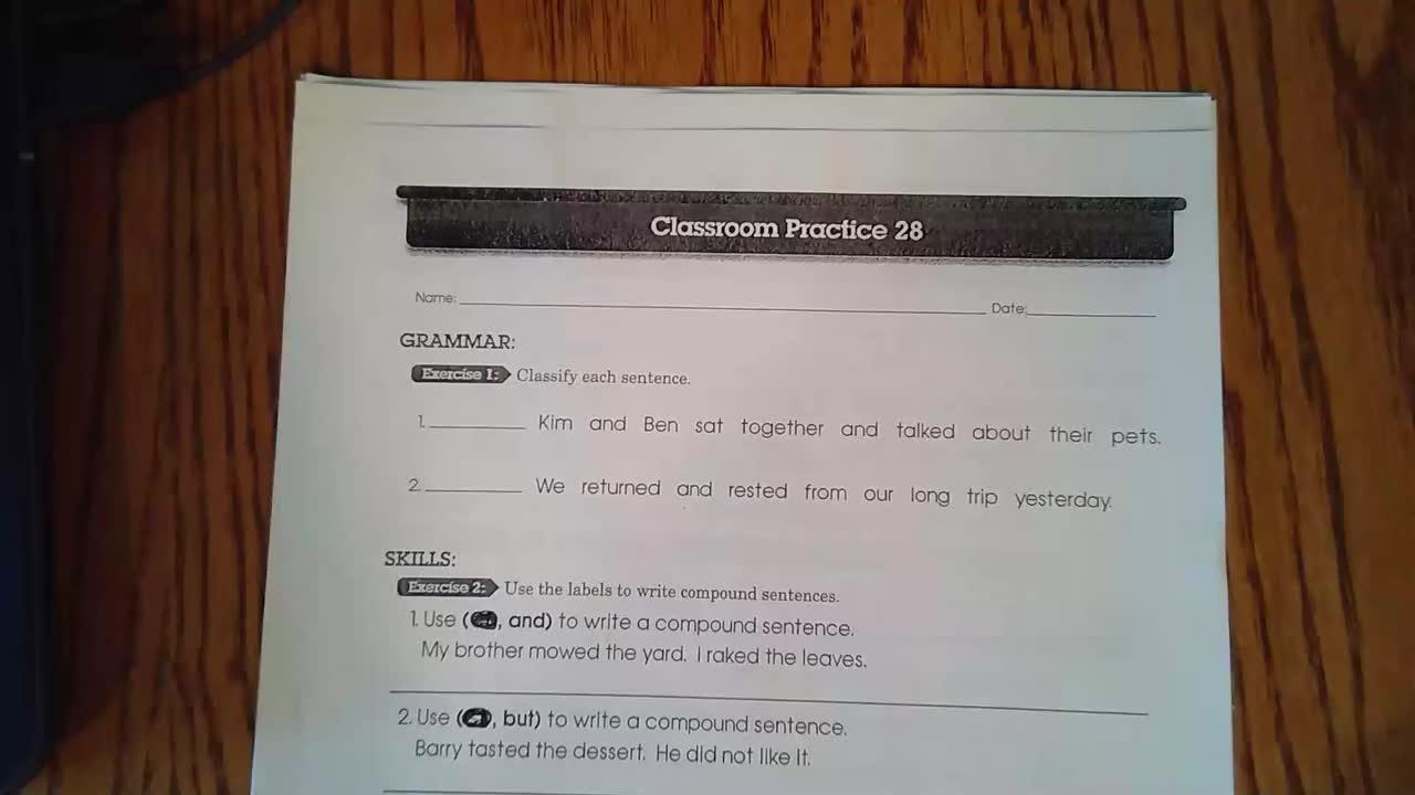 Language w.s. 28-29
