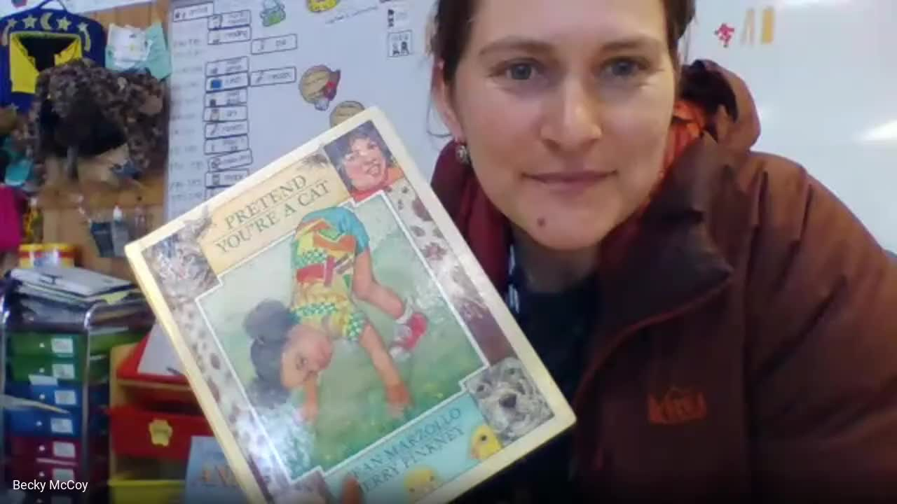 Beck Reads Aloud: Pretend You're a Cat by Jean Marzollo & Jerry Pinkney