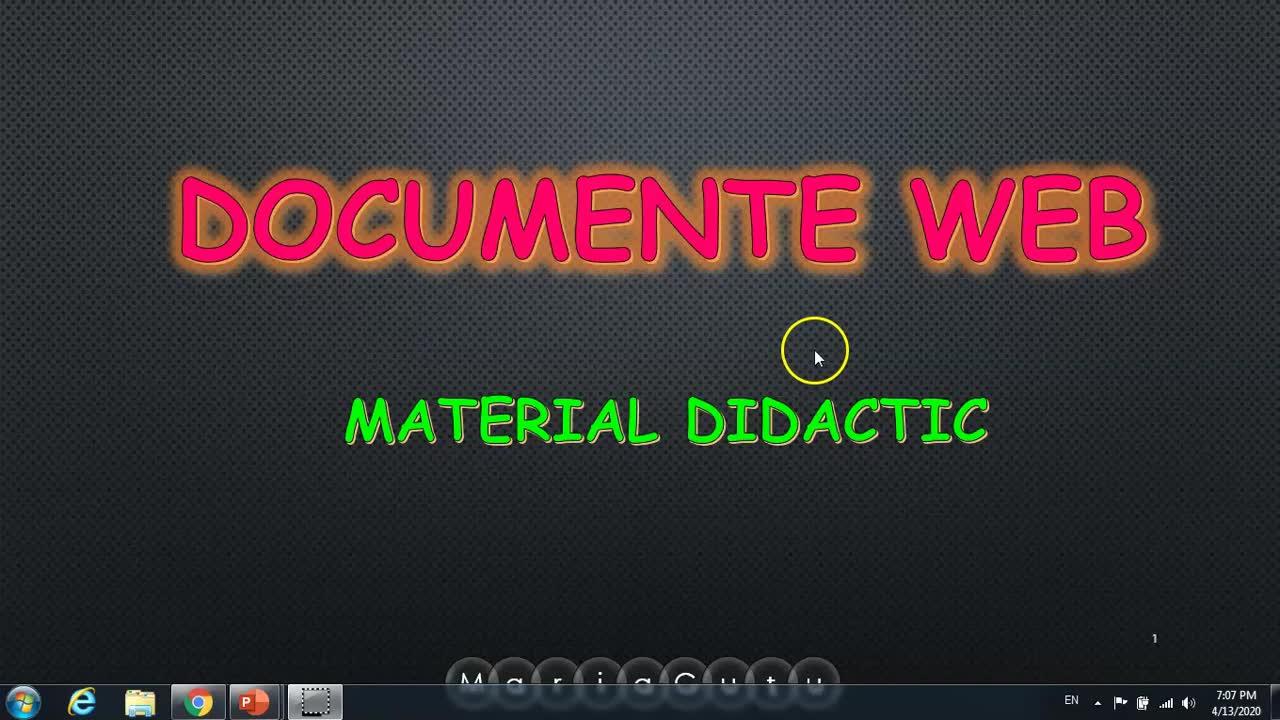 Documente Web