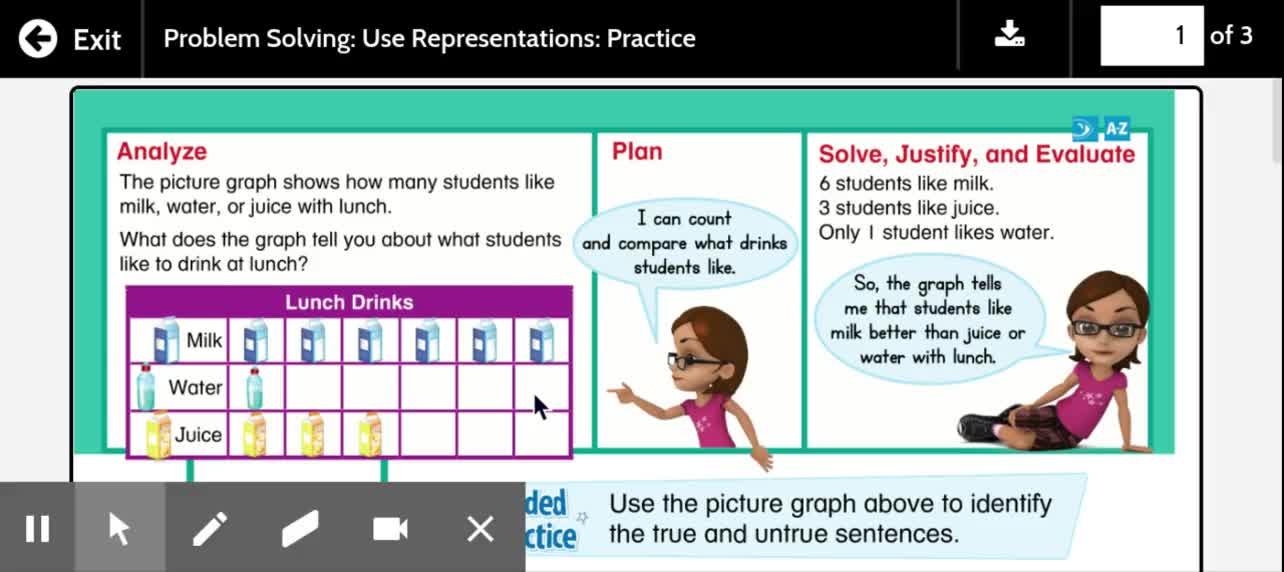 1st Grade Math Lesson 15-6