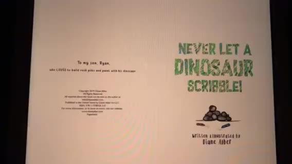 Never Let a Unicorn Scribble