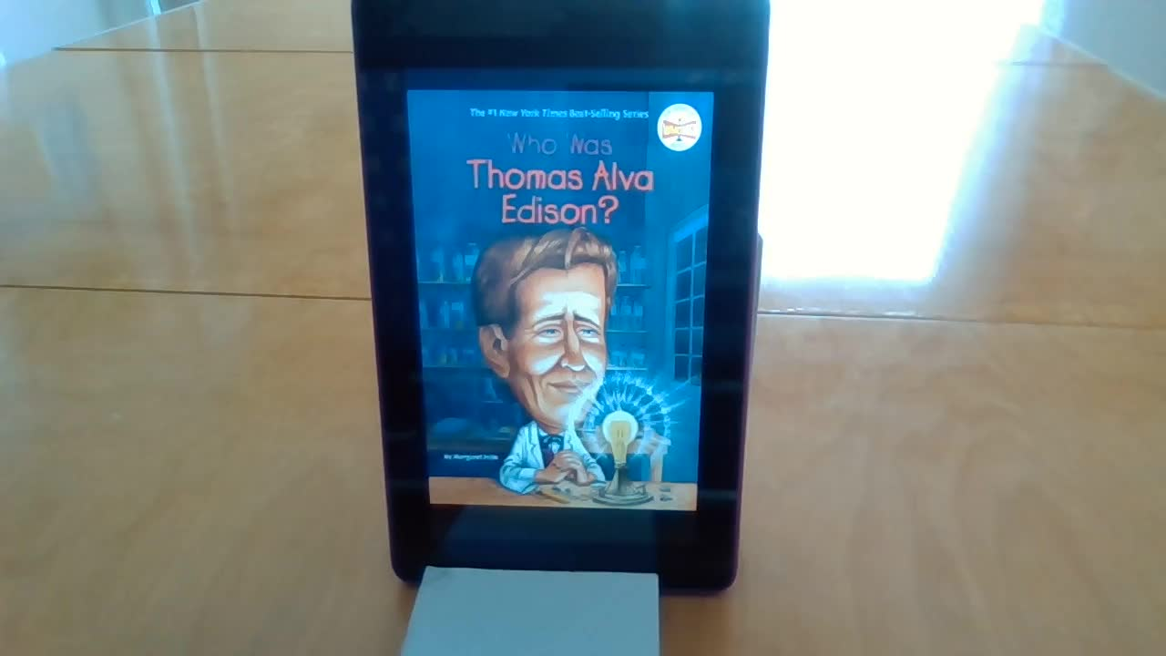 Who Was Thomas Edison: Chapter 1