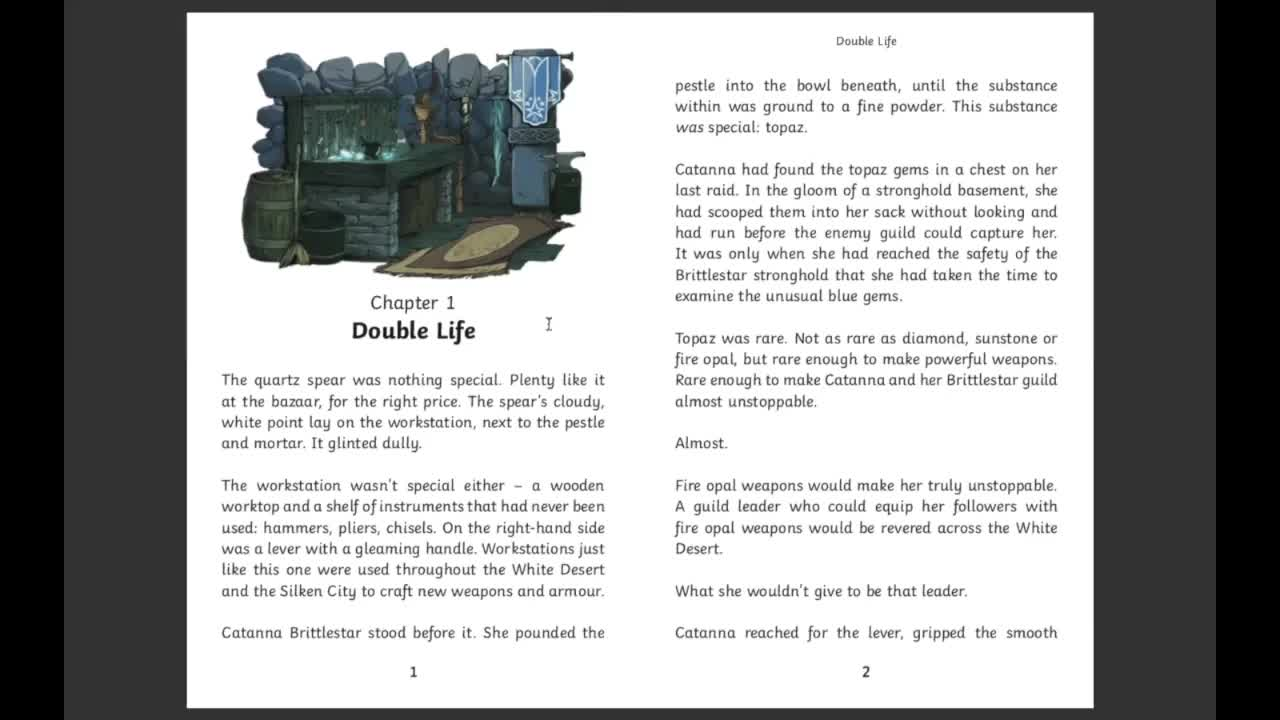 Raider's Peril - Twinkl Original - Chapter One