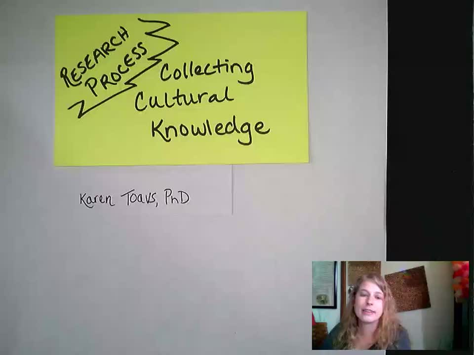 Toavs Teach: Collecting Cultural Knowledge