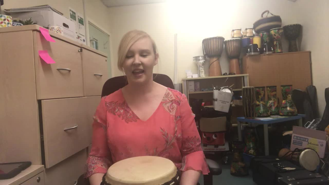 African Djembe Lesson 1