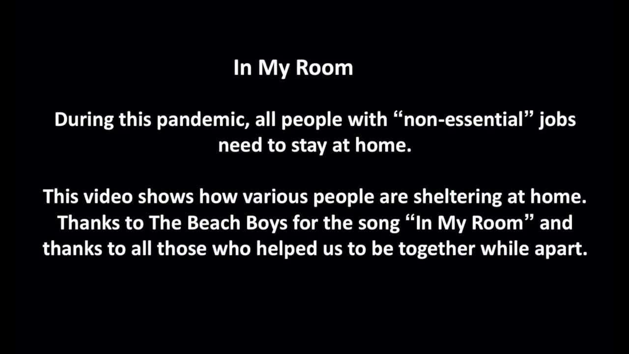 In My Room (in the time of corona virus)