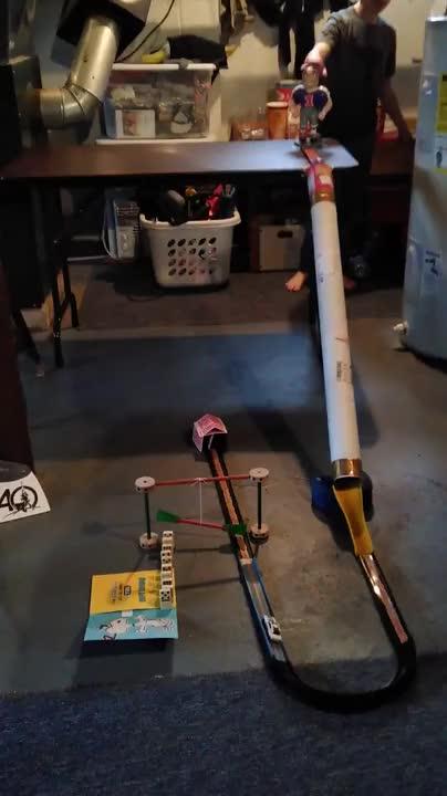 Simple Rube Goldberg Contraption