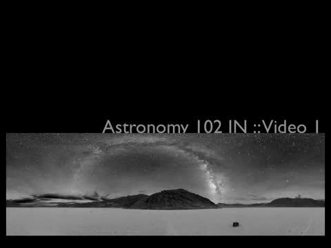 Lecture 1-Daily Motions of The Sky and The Celestial Sphere