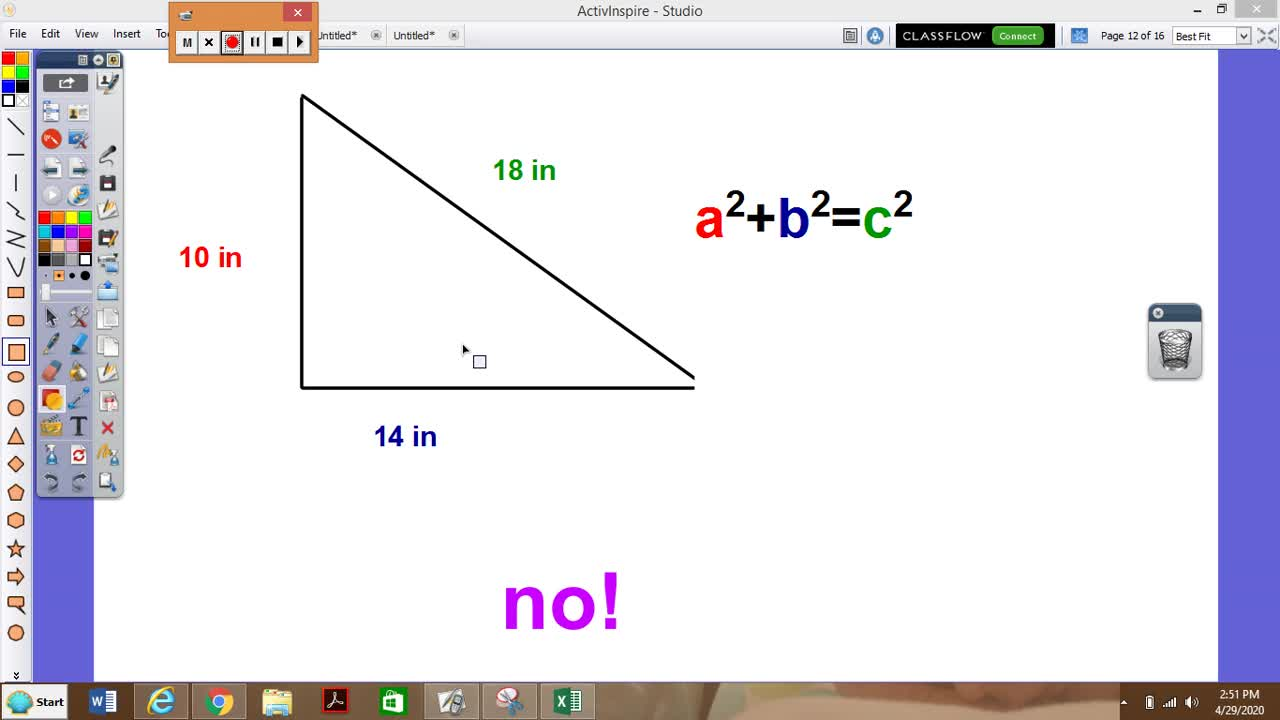7.5 Using Pythagorean Theorem and Distance Formula