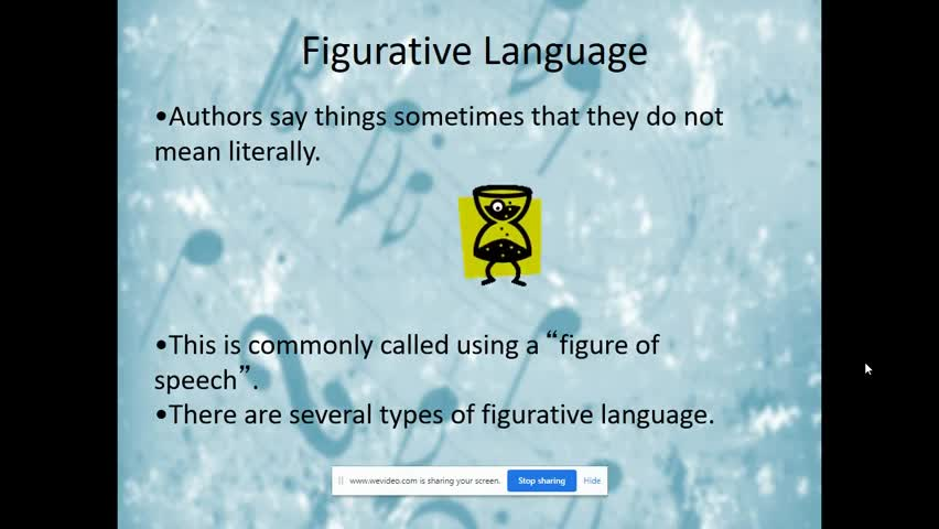 Figurative Language in the Highwayman Lesson