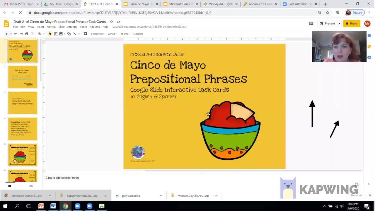 Draft of Demo for Interactive Google Slides (Part 1)