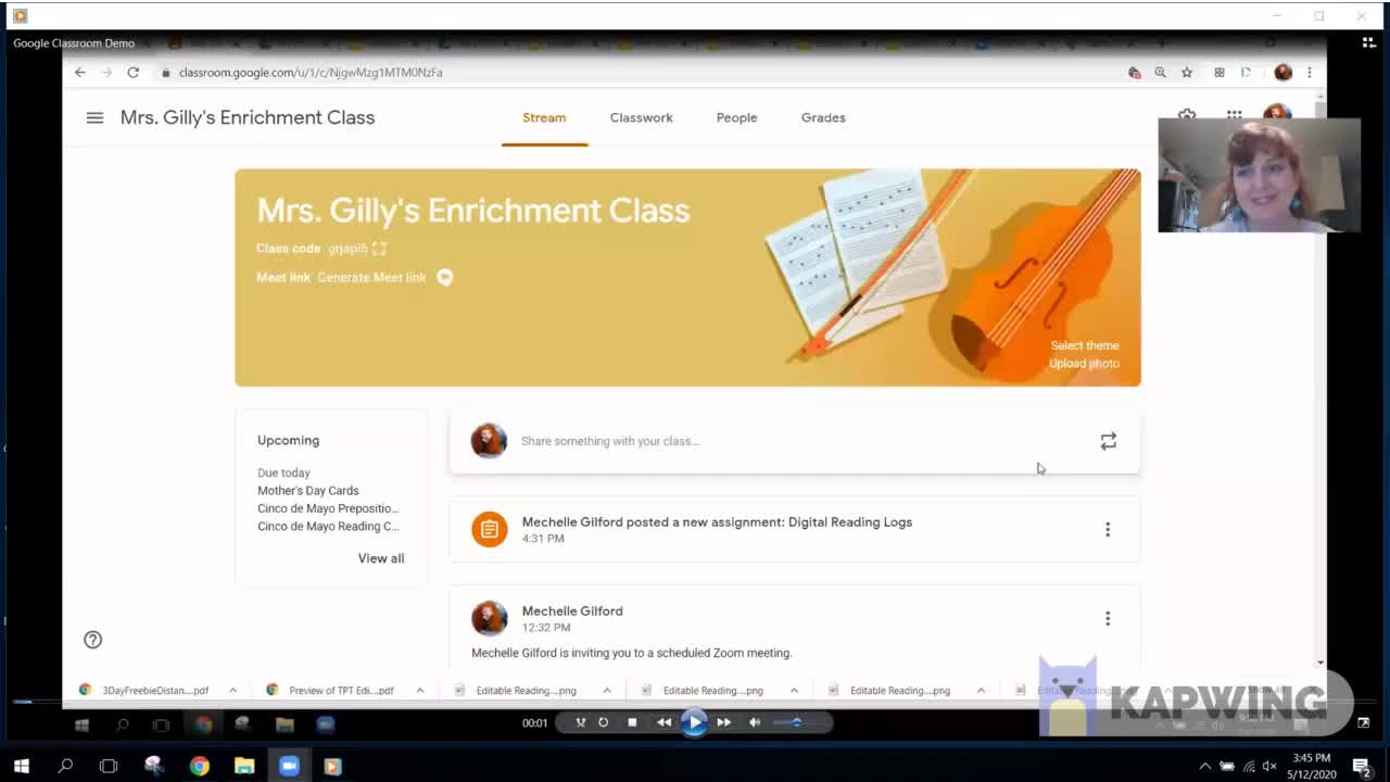 Adding Interactive Google Slides to Google Classroom