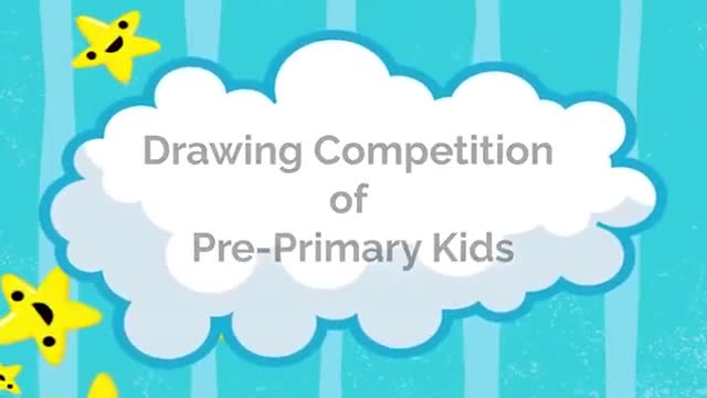 Drawing Competition | Pre-Primary | Kennedy High The Global School 1