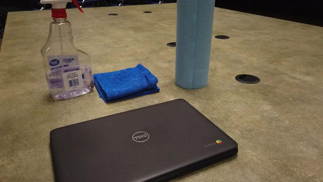 Cleaning a Chromebook