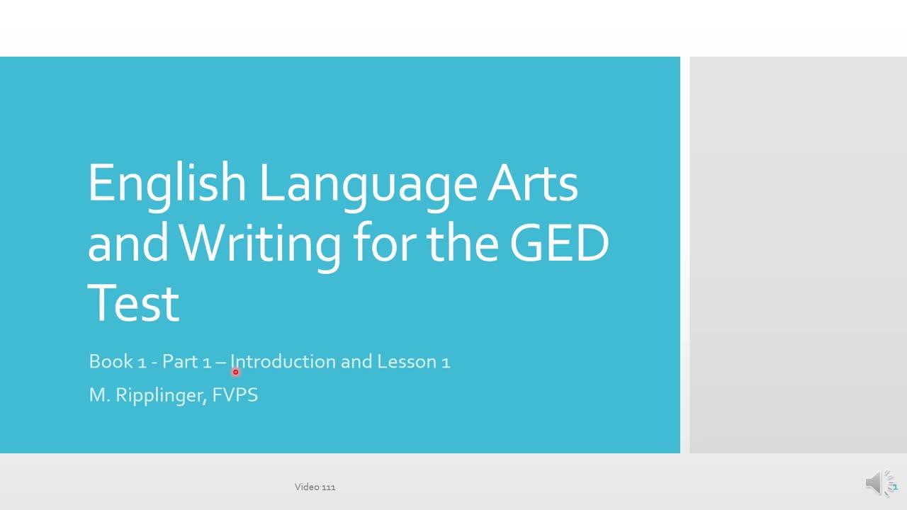 1101 English Language Arts