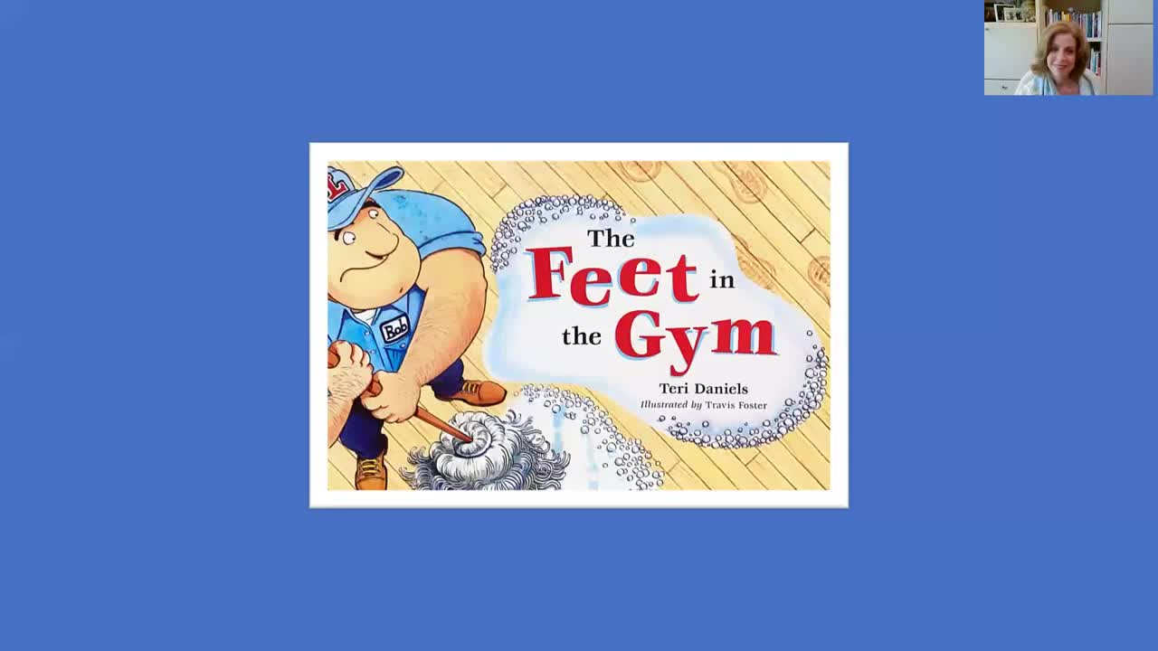 The Feet in the Gym ~ a picture book read aloud by Teri Daniels