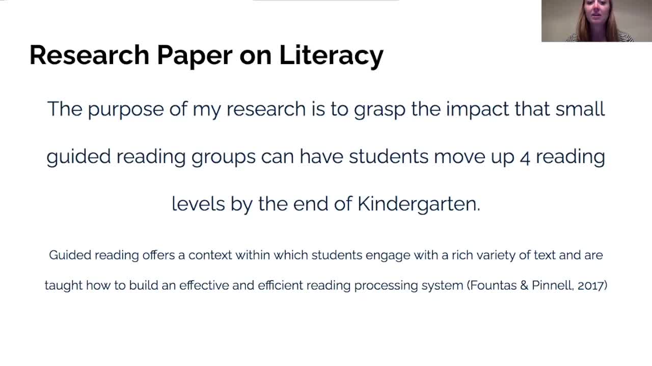 Small Guided Reading Groups