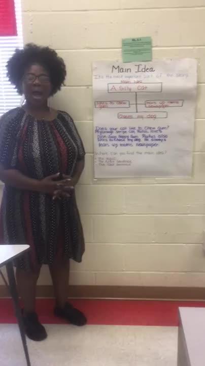 Ms.White Main Idea Lesson