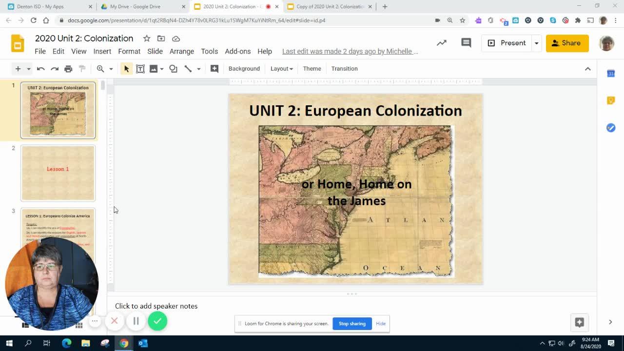 2020 Unit 2 Colonization Lesson 1