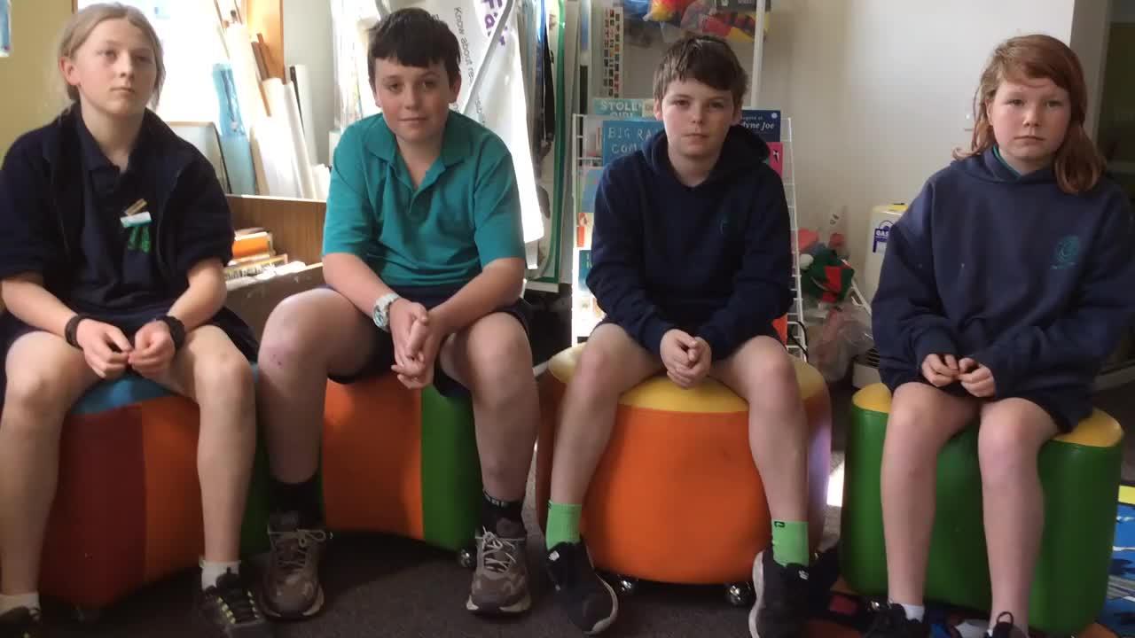Foster Primary School Students