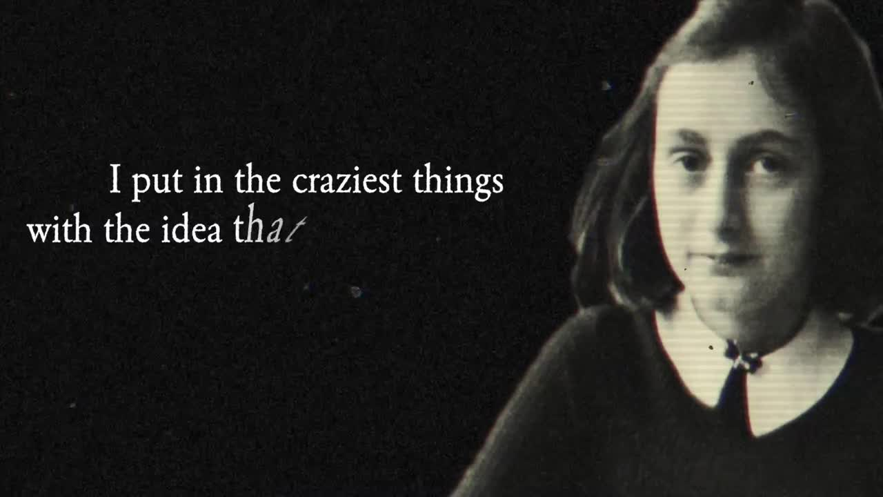Anne Frank Rap Video