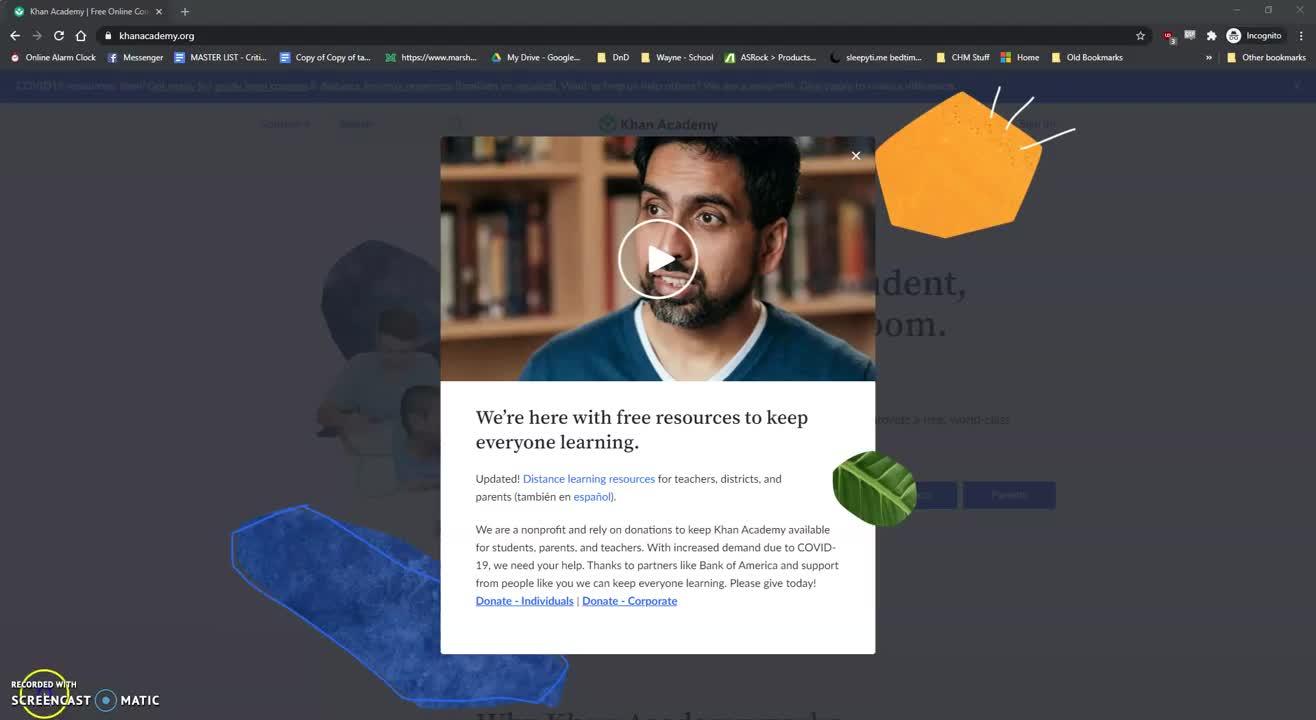 Khan Academy Overview - Options Pathway Wayne