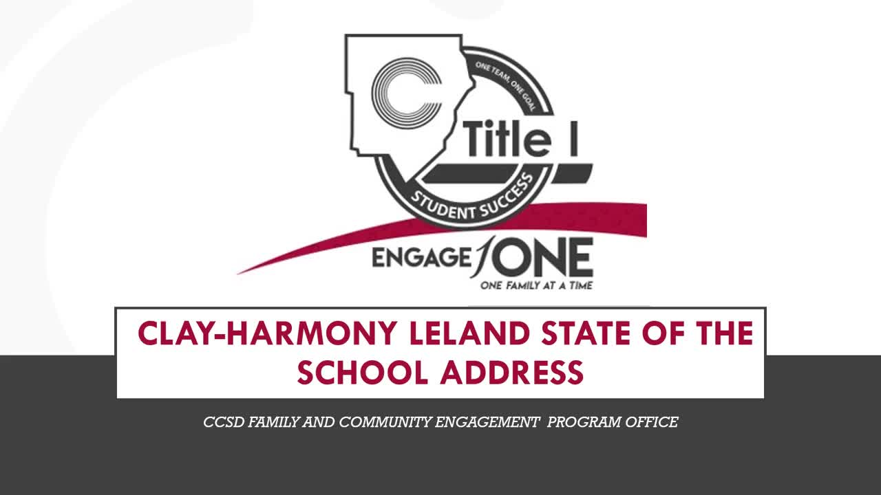 CHLES State of the School Address