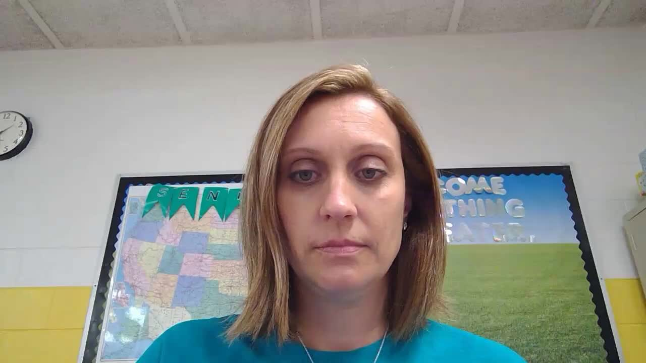 Mrs. Gregory's Meet The Teacher Video