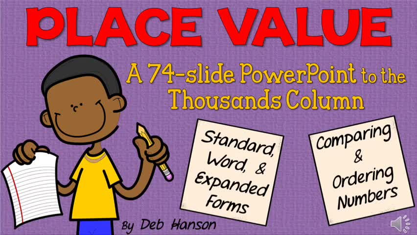 Place Value and Three Forms