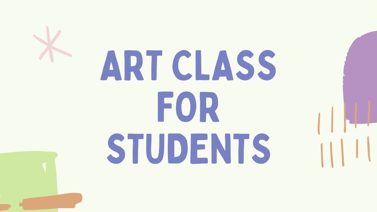 The Art Class For Students