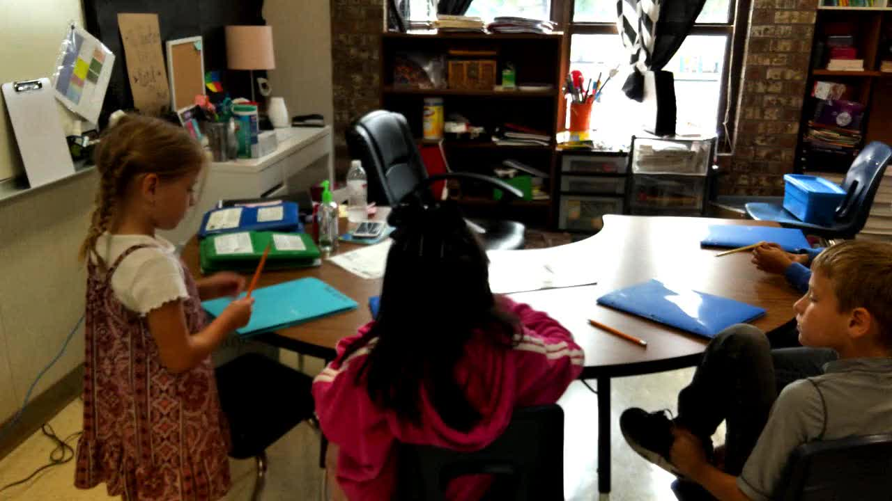 9/28/2020 2nd Grade Primetime Observation Video #1
