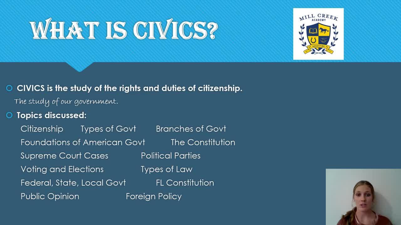 Curriculum Chat Civics