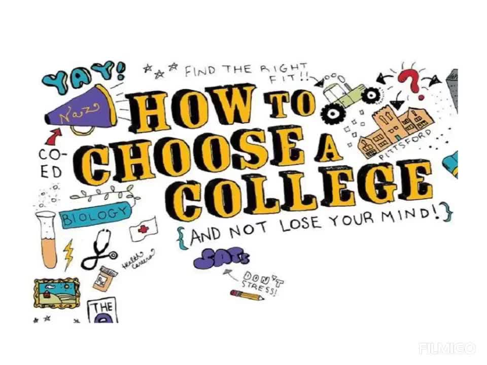 How can I choose the right college?